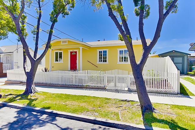 Cozy Craftsman Style Home - 3671 Wightman, San Diego 92104