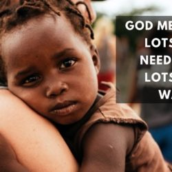 God's Generosity: Our Example
