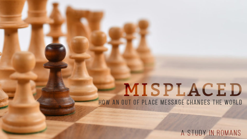 Misplaced; How an out of place message changes the world