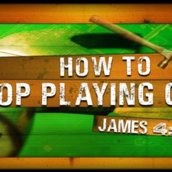 How to Stop Playing God