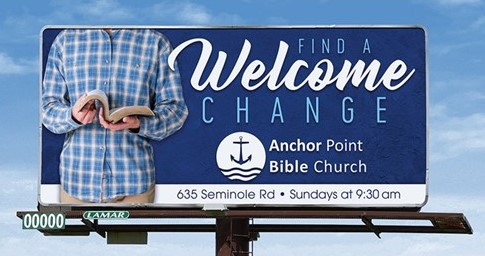 New Billboard for our Community!