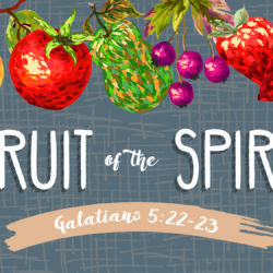The Fruit of the Spirit Summer Series