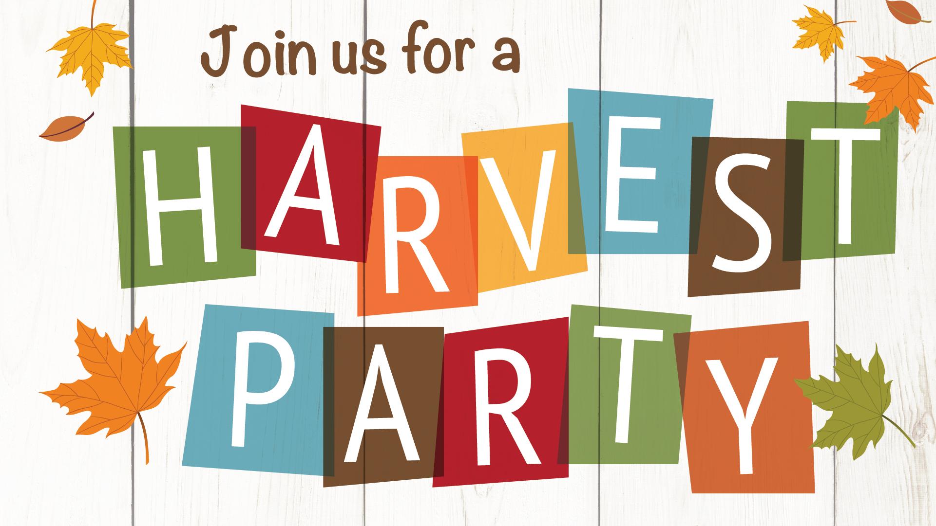 Family Fall Harvest Party – AWANA