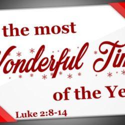 2019 Christmas Series Message #1
