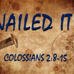 #11 in the Colossians Series