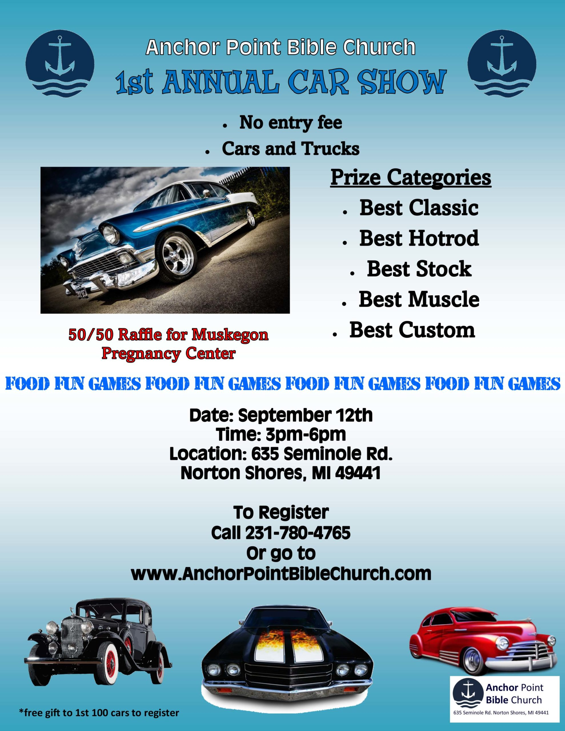 First Annual Car Show