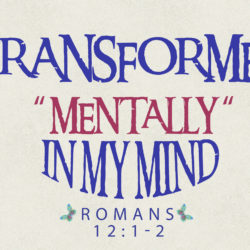 #3 Transformed Mentally (In My Mind)