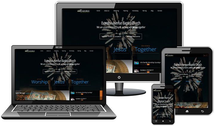Evanston Avenue Baptist Church - Church Website Design