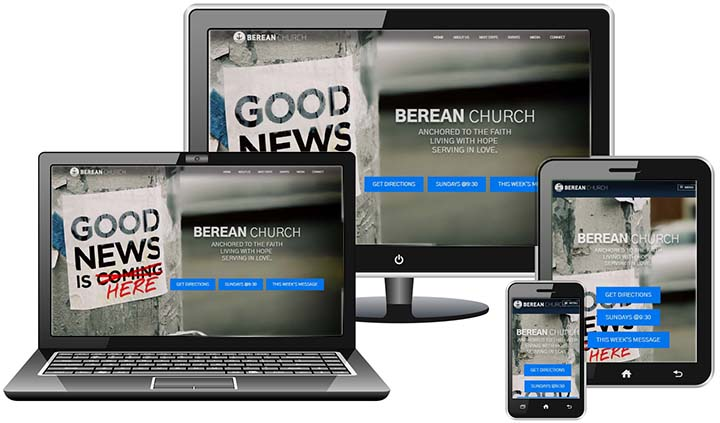Berean Church Website