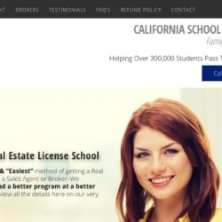California School Of Real Estate