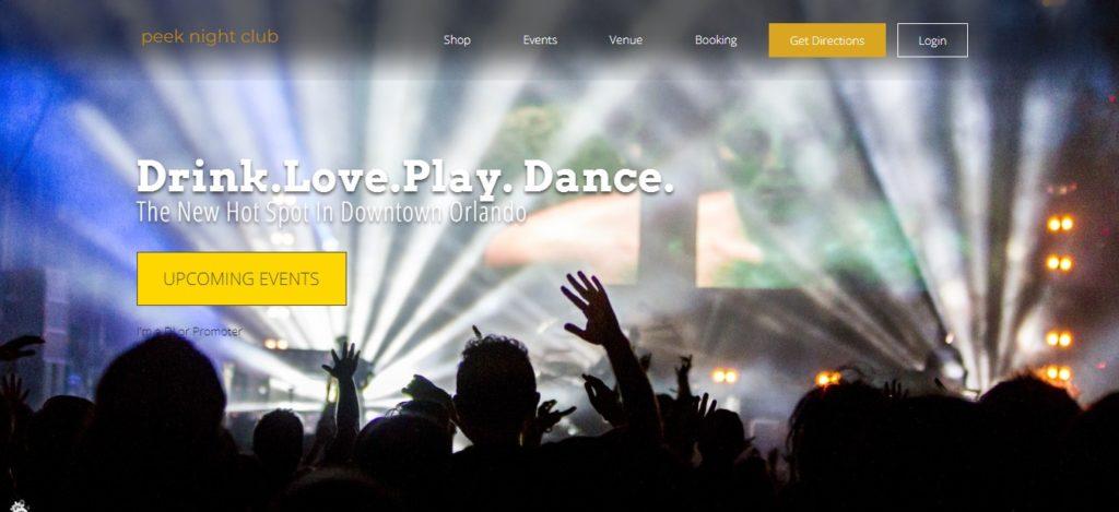 Dance Club Website