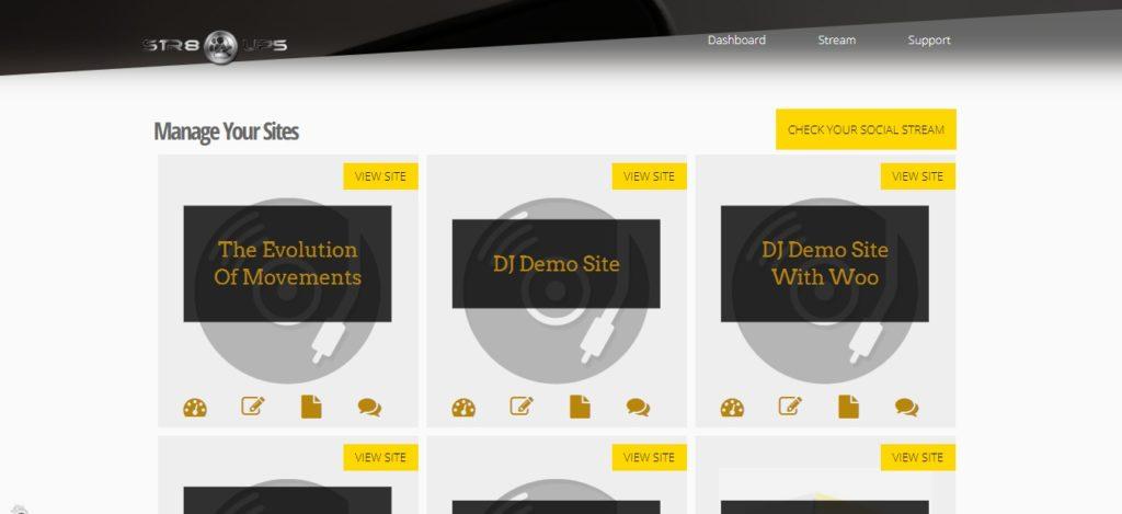 Custom WordPress Multisite Dashboard