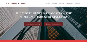 Doss Law - Finance Lawyer Website Design and Development