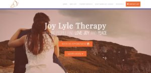 Joy Lyle Therapy - Therapist Website Design